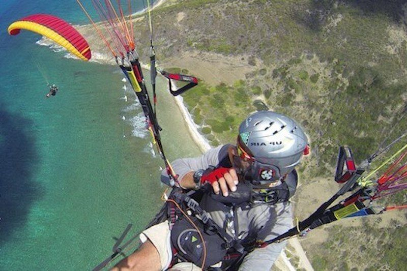 Custom Guadeloupe paragliding session