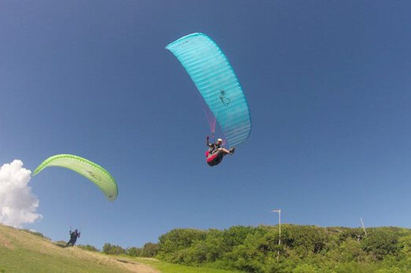 Stage progression parapente Guadeloupe - Cycle 1 à 2 EFVL