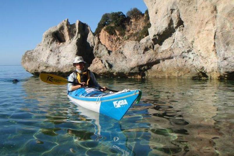 Sunrise kayak tour in Propriano