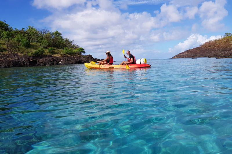 """"""" 4H """"    location kayak pour la réserve COUSTEAU 30€/pers"""