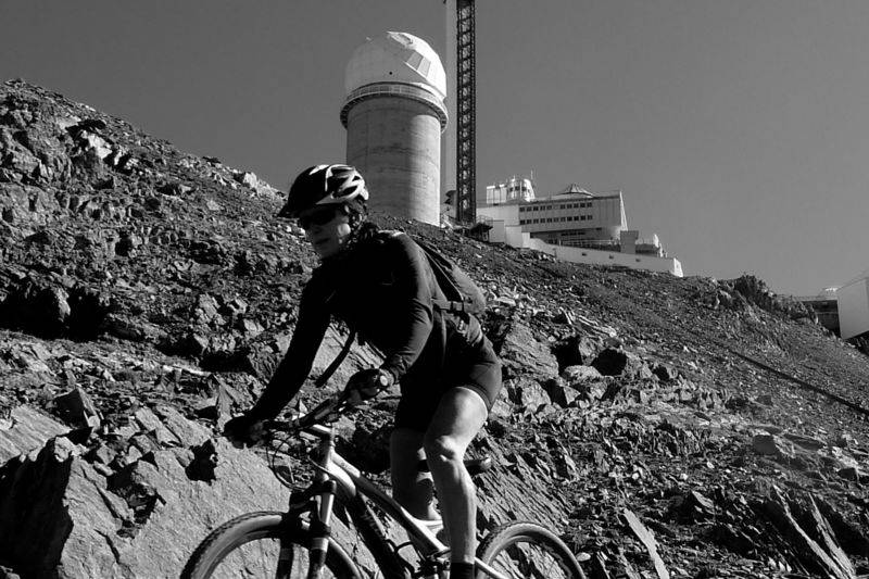 VTT All-mountain - Pic du Midi - La descente