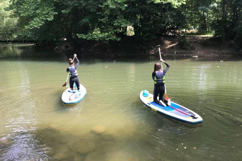 Stand up Paddle  à Ligugé