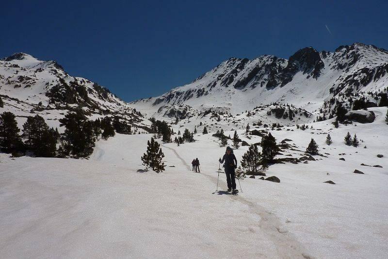 Raid 6 jours à raquettes dans le massif des Encantats, Val d'Aran.