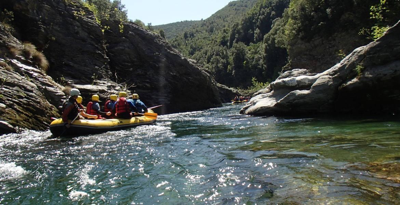 Descente en Rafting ou Cano'raft (Avril uniquement)