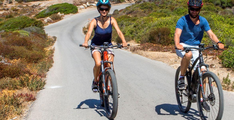 Sant Antoninu en vélo électrique