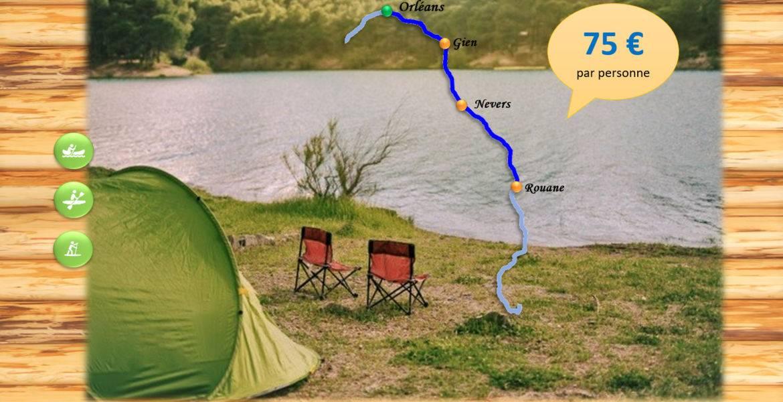 Bivouac 3 jours - Gien - 65 km