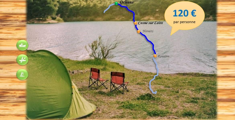 Bivouac 5-6 jours - Cosne sur Loire - 120 km