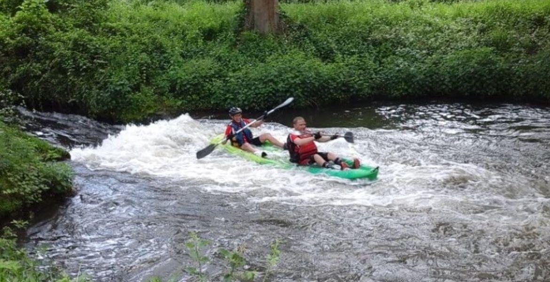 Descente demi-journée en canoë kayak sur l'Eure
