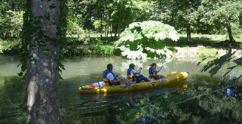 Descente journée en canoë sur l'Eure