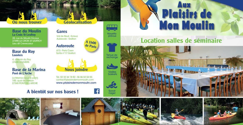SALLE POUR SEMINAIRE - ANNIVERSAIRE - BAPTEME - VIN D'HONNEUR dans l'Eure en Normandie
