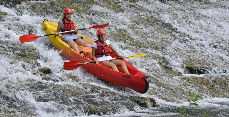 Evasion en Canoë Kayak sur l'Hérault 13km : 4 h + de 11 ans