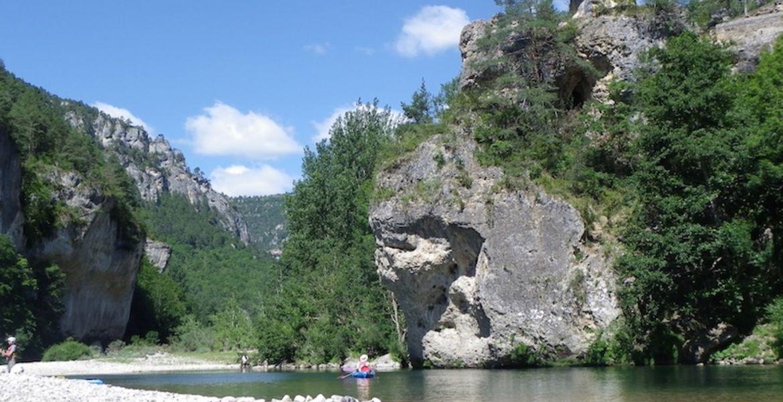 Randonnée 2 jours en canoë depuis Prades