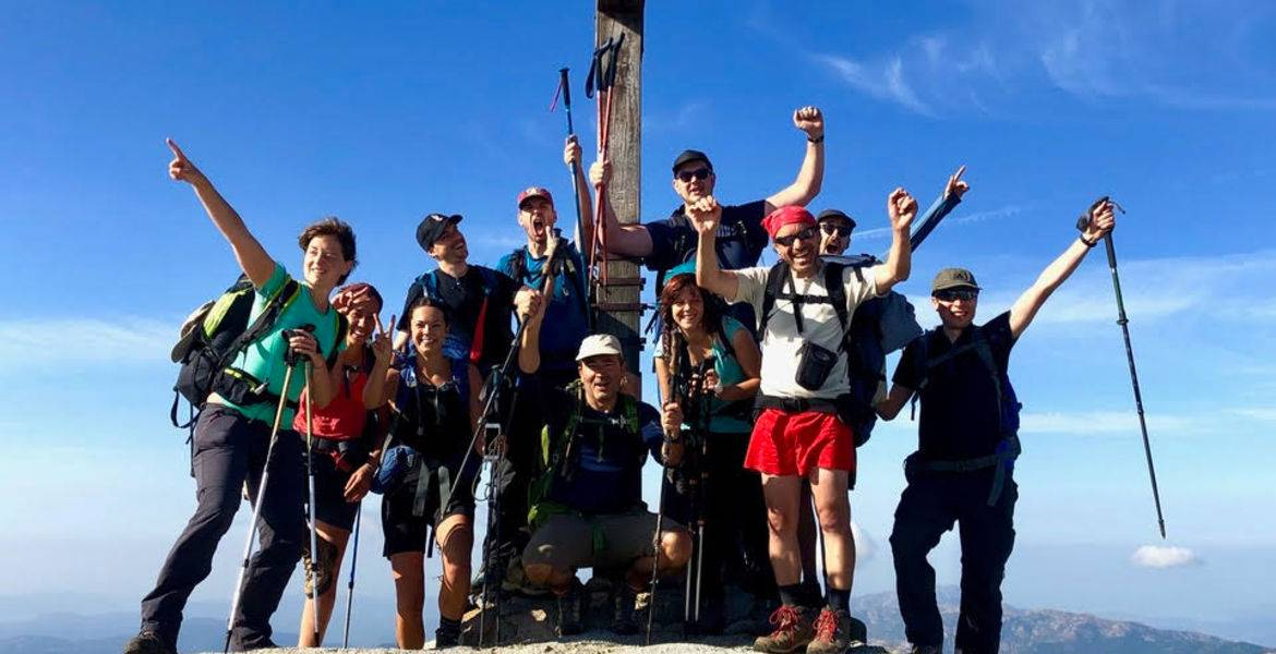 Corsica GR20 guided 1 week hike north part