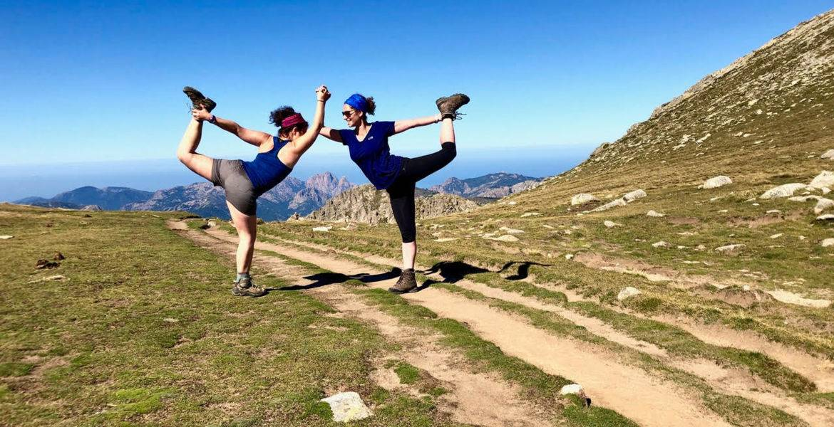 GR20 Corsica hiking guided trip South part in 1 week