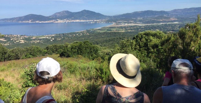 Randonnée Ajaccio avec guide 1/2 journée sur les hauteurs de Porticcio