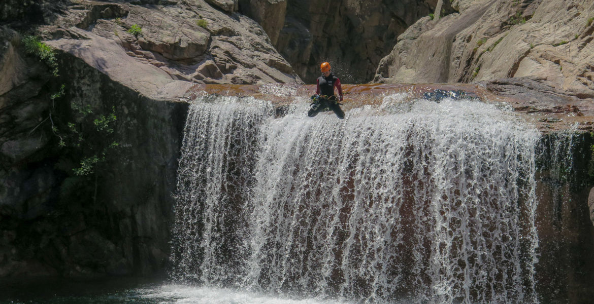 "Sport journey Corsica ""Cocktail of sensations"" : Canyoning, Hiking, Kayak and Climbing"