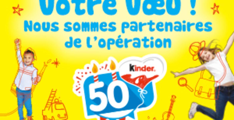 50 ans Kinder