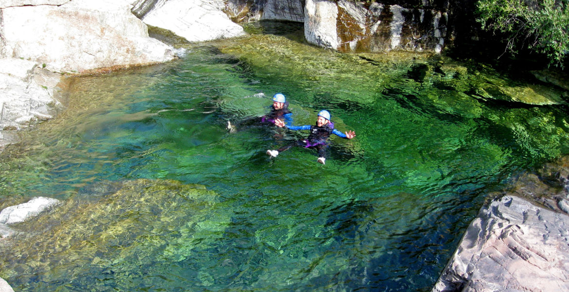 """Canyon Corsica Zoicu """"discovery tour"""" from 7 years-old"""