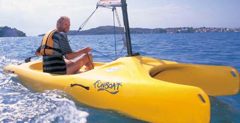 funboat rental Ajaccio