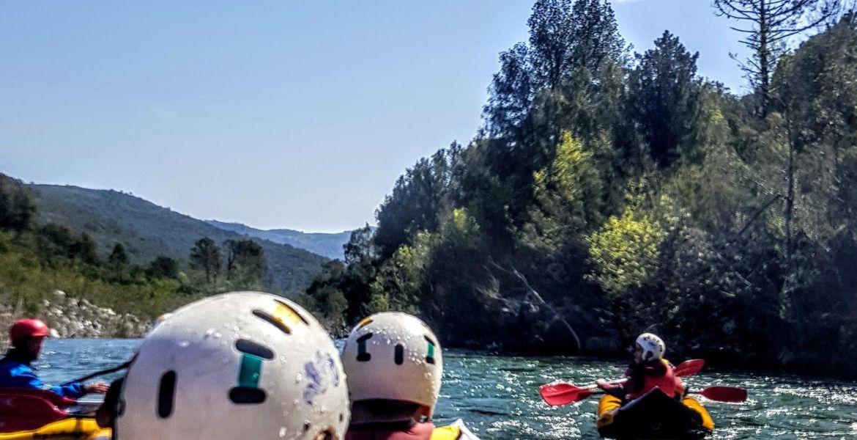 Rafting Corsica - Tavignano river descent near Corte