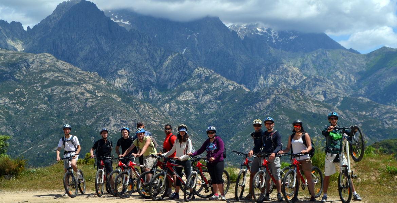 Mountain biking Corsica