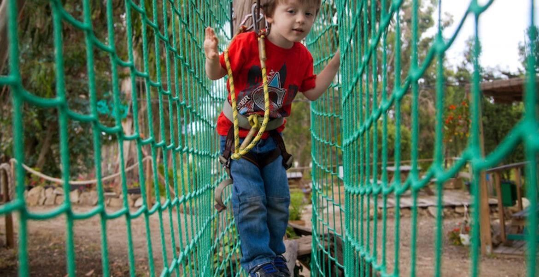 Accrobranche enfants à Solenzara : Parcours Kids