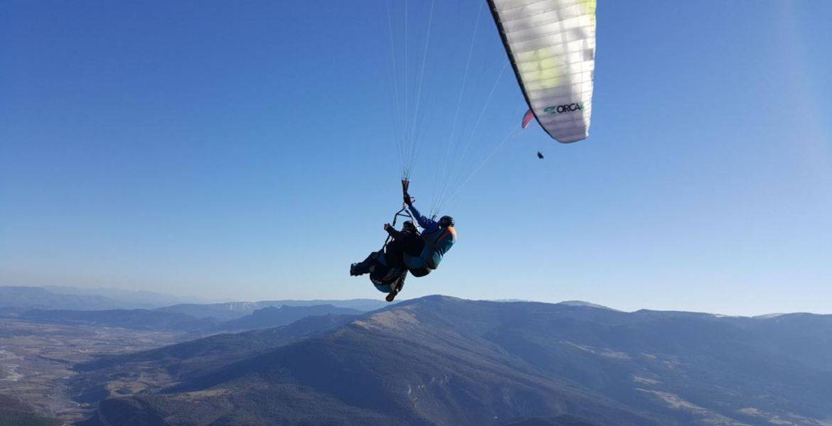 Paragliding Tandem Flight on Laragne - Sisteron