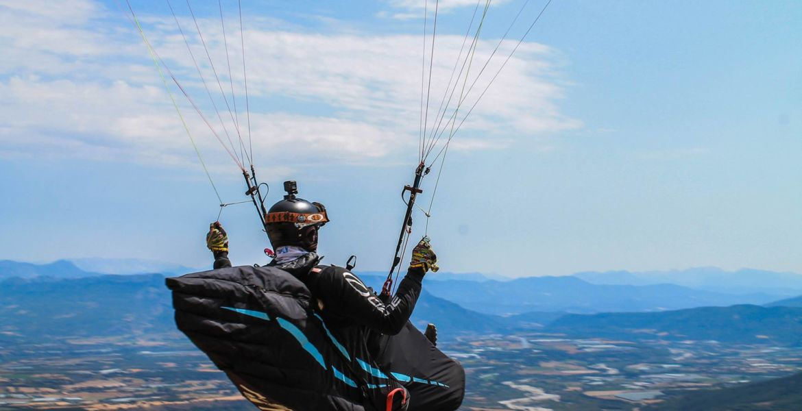 Stage cross parapente Hautes alpes