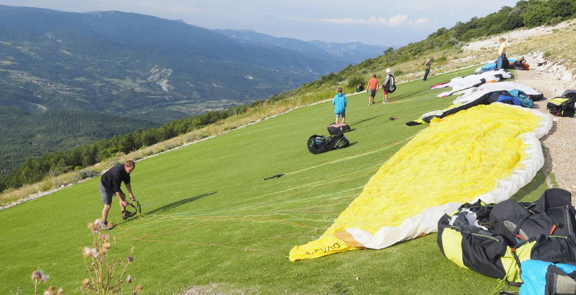 Stage initiation parapente à Laragne - Sisteron