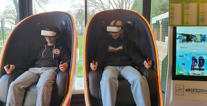 Réalité virtuelle à la Roche sur yon