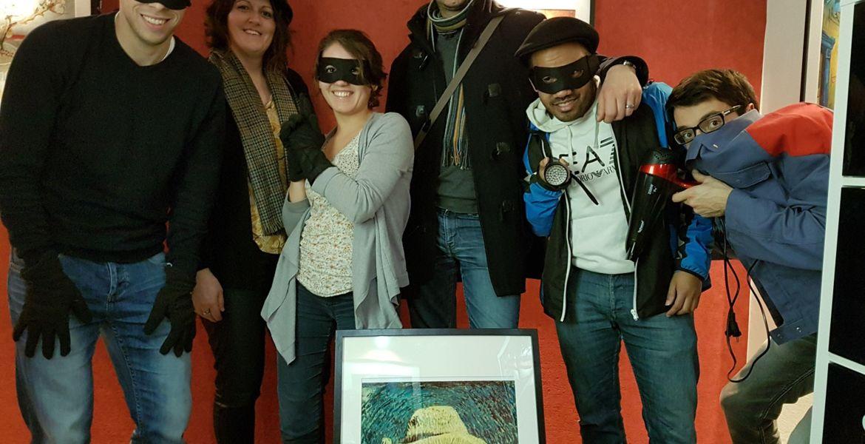 Escape game La Roche sur yon: Le braquage du musée