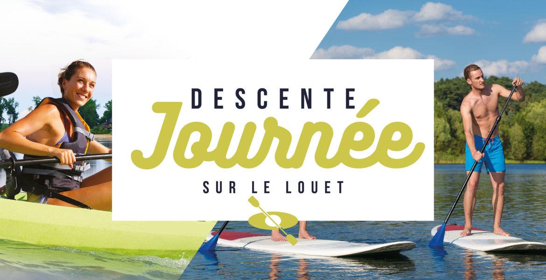 Descente journée en canoë - kayak - paddle sur le Louet ou la Loire