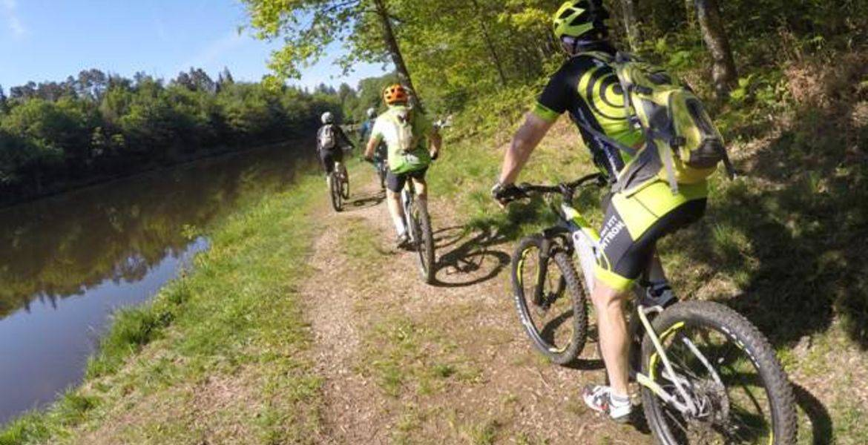 Séjour en VTT électrique, La Grande Boucle du Parc Périgord-Limousin