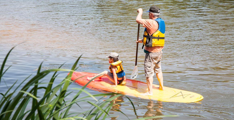 Paddle Fillé sur Sarthe
