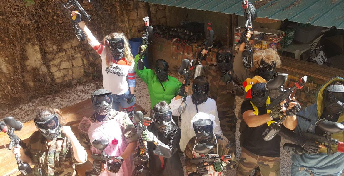 PAINTBALL ADO ADULTE