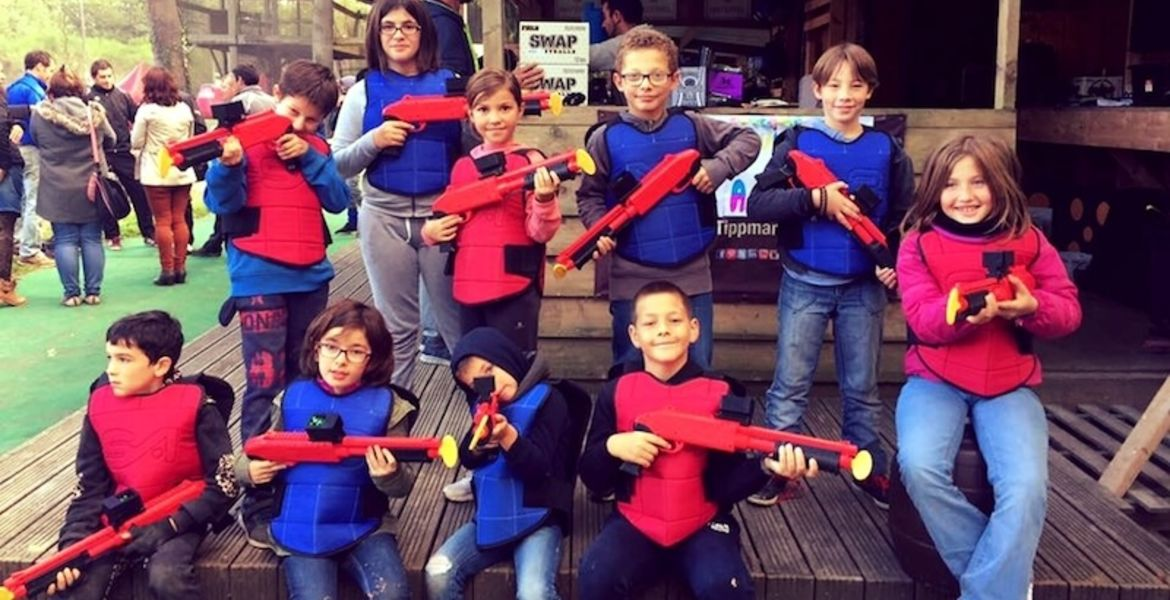 Paintball Enfant Angers-Marcé