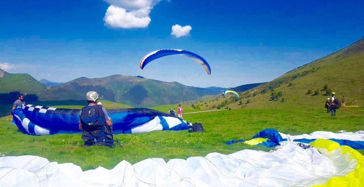 Les stages initiation au parapente Option vol montagne / Bivouac
