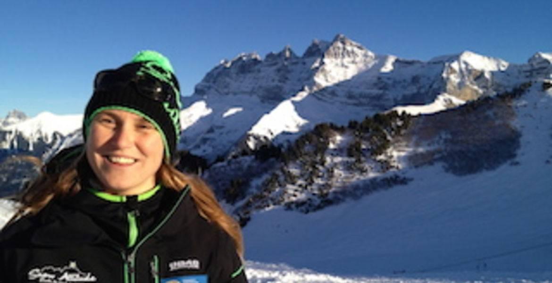 Aurélia Abhervé - Ski / Snowboard - Champéry - Portes du Soleil - Valais - Suisse