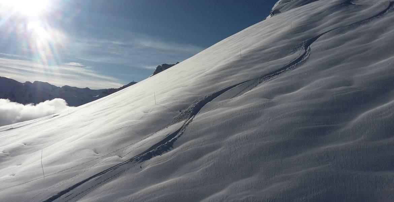 Ski hors piste à Châtel - Haute Savoie - France