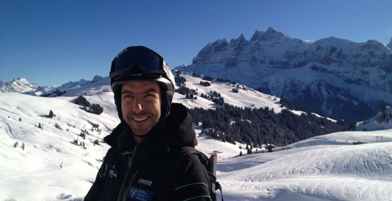 Vincent Raboud - Ski / Télémark - Champéry - Portes du Soleil - Valais - Suisse