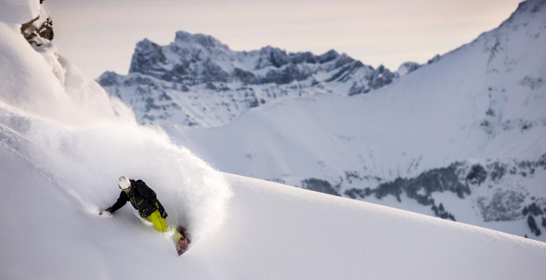 Snowboard Hors piste