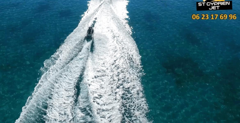 Rando Jet Ski - Baie de La Capicciola - 30 Min