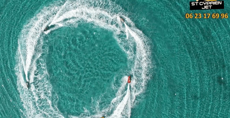 Rando Jet Ski - Baie de Pinarellu - 1h