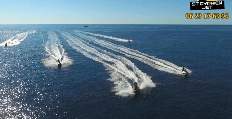 Rando Jet Ski - Baie de Santa Manza - 3h