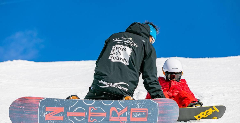 Snowboard private lessons