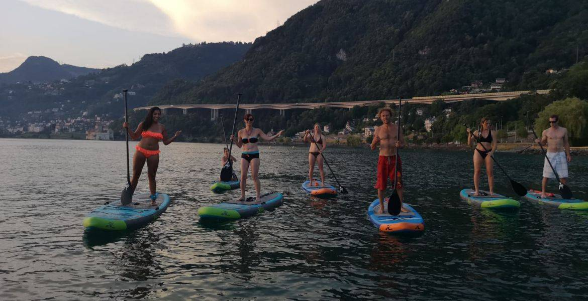 Cours d'initiation Stand Up Paddle