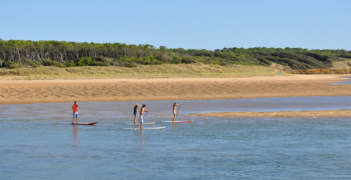 Initiation Stand-Up Paddle sur la Plage du Veillon - 1h30