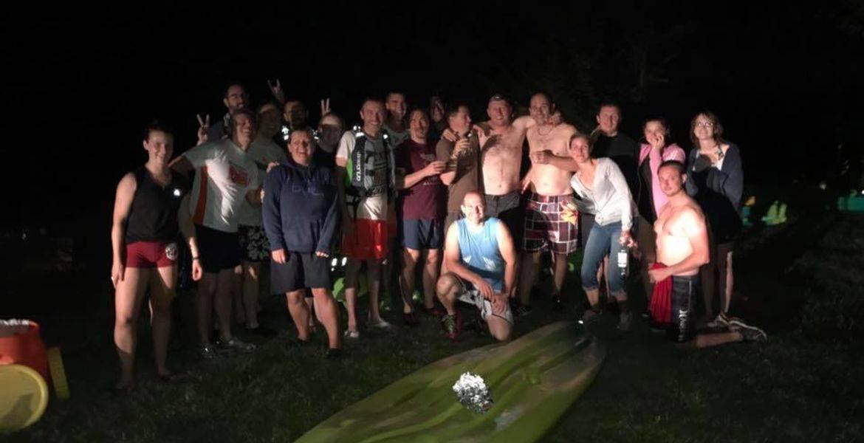 Balade nocturne en kayak à Poitiers