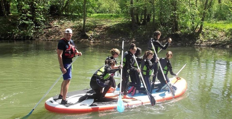 Paddle géant à Poitiers