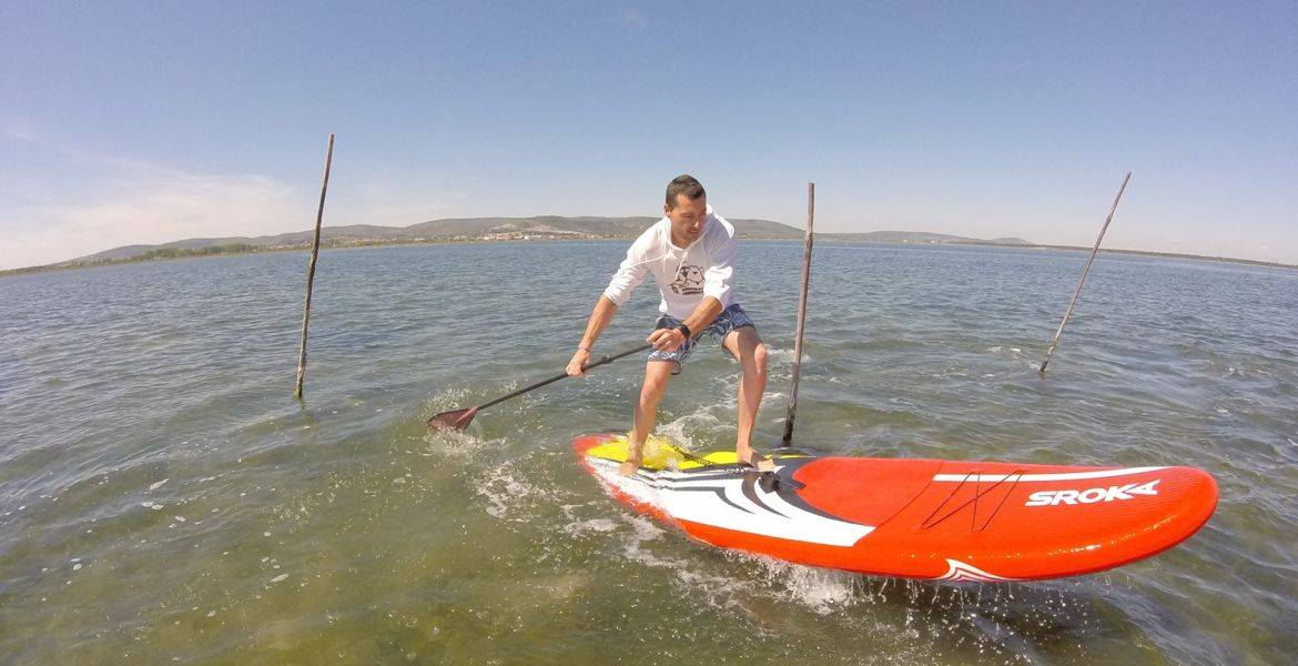Coaching stand up paddle à Frontignan
